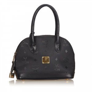 MCM Visetos Nylon Mini Handbag