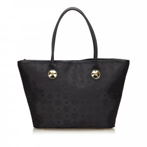 MCM Visetos Nylon Tote Bag