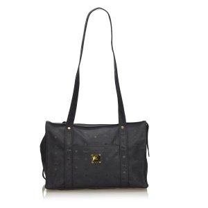 MCM Shoulder Bag black nylon