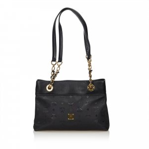 MCM Visetos Shoulder Bag