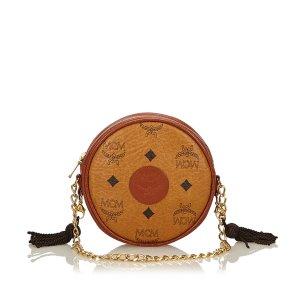 MCM Visetos Tassel Chain Bag