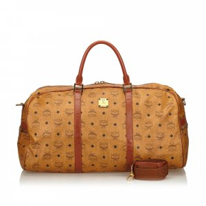 MCM Visetos Travel Bag