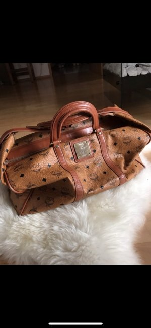 MCM Weekender Bag cognac-coloured