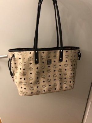 Mcm Wendeshopper Medium Beige top