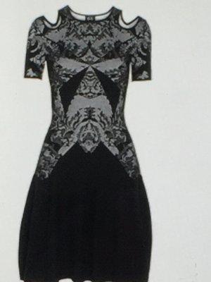McQ Alexander McQueen Intarsia Strech-knit dress