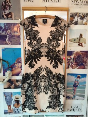 McQ by Alexander Mcqueen Lace print dress