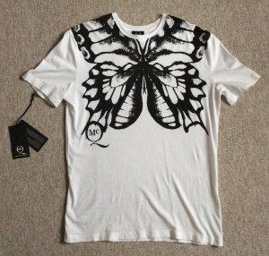 McQ by Alexander McQueen T-Shirt Schmetterlingsprint Gr. XS