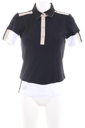 MDC Polo-Shirt Schriftzug gedruckt Casual-Look