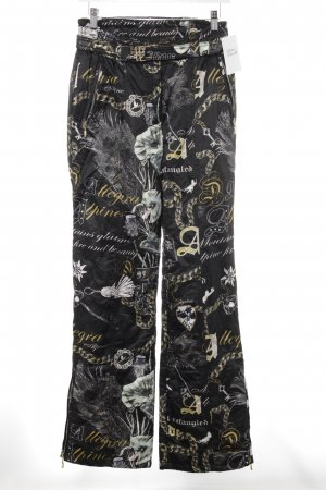 MDC Pantalon de ski motif abstrait style simple