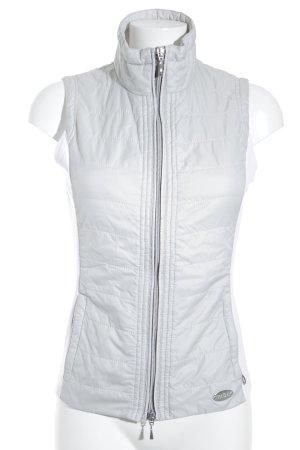 MDC Steppweste weiß-hellbeige sportlicher Stil
