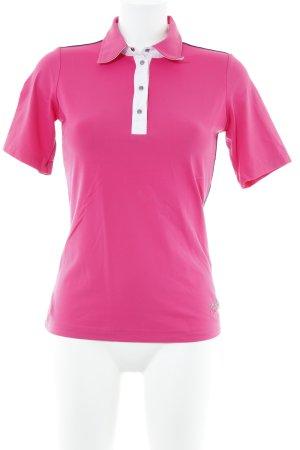 MDC T-Shirt pink-dunkelblau Casual-Look