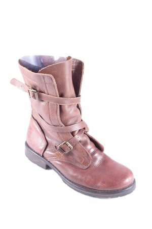 MDK Boots cognac Street-Fashion-Look