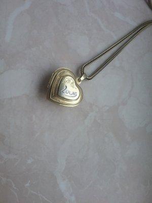 Medaillon zilver-goud