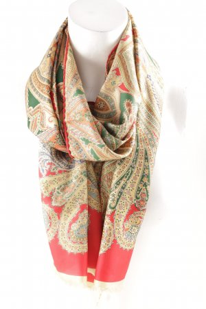 Medici Zijden sjaal bloemen patroon elegant