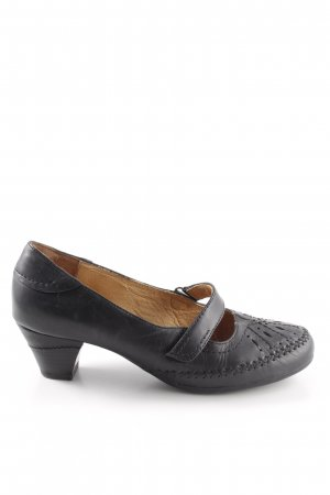 Medicus Mary Janes black-sand brown classic style