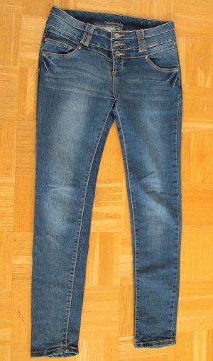 Medium-high Waist Stretch Jeans Gr. M