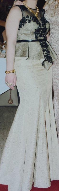 meerjungfrau abendkleid