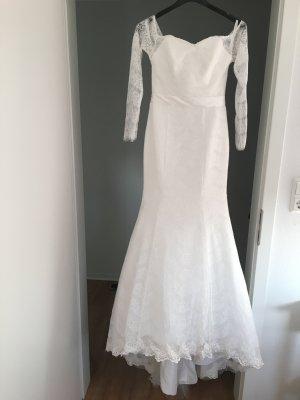 Meerjungfrau Brautkleid in Größe 34
