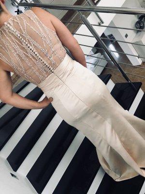 Evening Dress beige