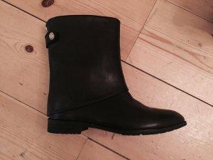 MEGA ABVERKAUF!!! Nie getragene, schwarze Leder-Boots Gr.40