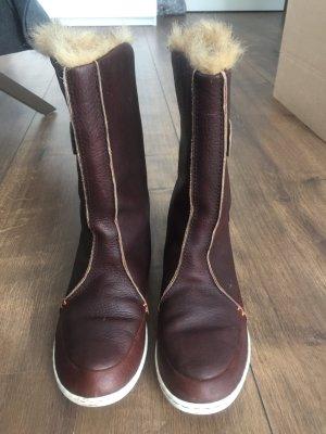Mega coole und warme Leder Boots
