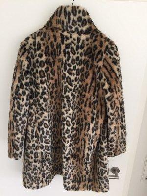 H&M Cappotto in eco pelliccia multicolore Pelliccia ecologica