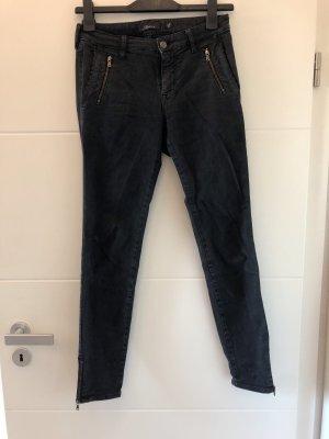 Mason's Pantalón tobillero gris antracita