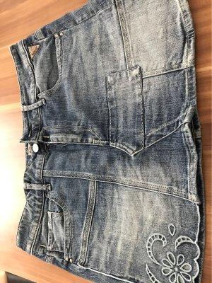 Replay Gonna di jeans blu acciaio
