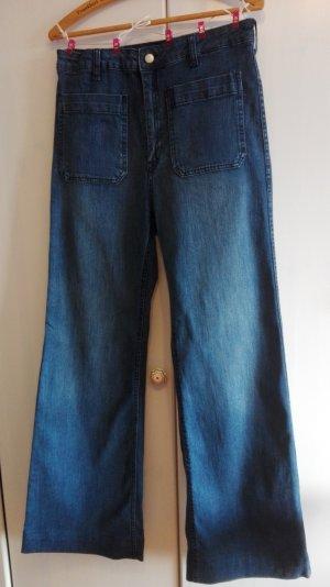 Mega Jeansschlaghose, HIPPY, H&M, 42