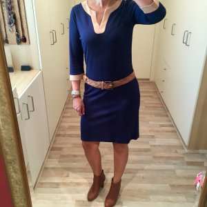 Anna Field Dress blue-nude