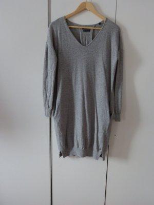 Mega kuscheliges Pulloverkleid in angesagtem grau