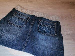 Made in Italy Denim Skirt azure