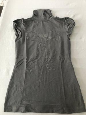 Mega Rollkragen-Shirt mit Glitzerschleife Gr. S