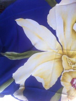 """""""RenatoBalestra""""-DesignerReinseiden XL- Tuch, """"Orchidee"""", wie neu!"""