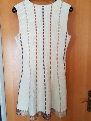 mega Schnäppchen * Azzedine ALAIA - Kleid aus schwerem elastischem Viskosestrick