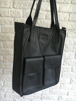Mega schöne Ledertasche Handtasche Shopper von Vera Pelle von 159, jetzt 75€ schwarz
