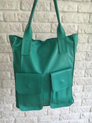 Mega schöne Ledertasche Handtasche Shopper von Vera Pelle von 159, jetzt 79€ mint