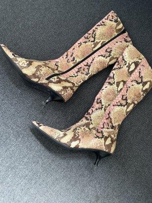 Mega stylische Stiefel, Gr. 39, Phyton-Look