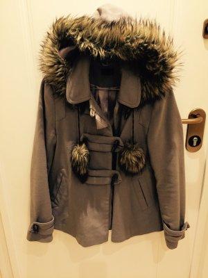 Mega süße Jacke aus London von Topshop mit Kunstfell
