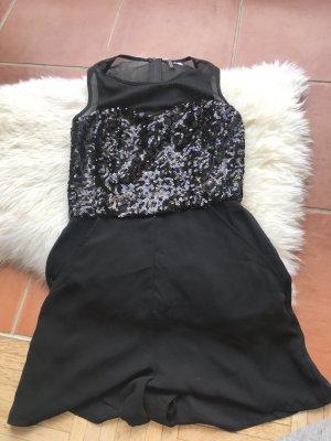 H&M Abito con paillettes nero