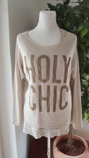 MEGA SWEATER/PULLI **GLAMOUR-GOLD***MADE IN ITALY***NEU!!!!