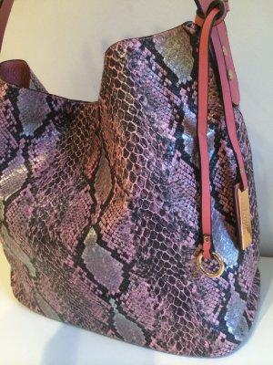 mega tolle Tasche mit Schlangen-Print