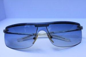 Chloé Occhiale da sole spigoloso grigio-argento Metallo