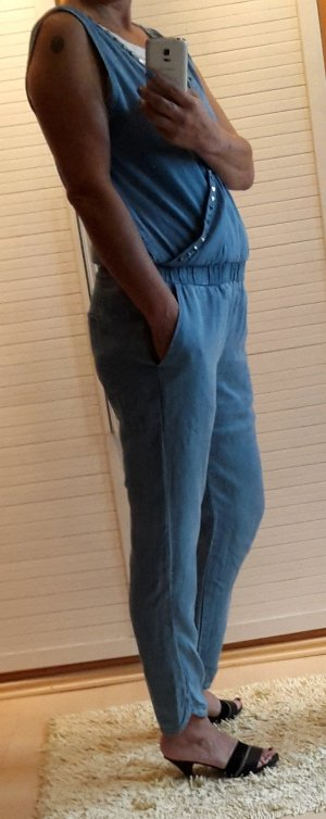 Megan Soft Denim Jumpsuit mit Nieten Guess