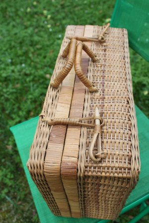 Basket Bag sand brown