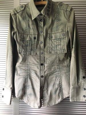 Megatolle Bluse/Jacke von Blacky Dress aus Jeansstoff