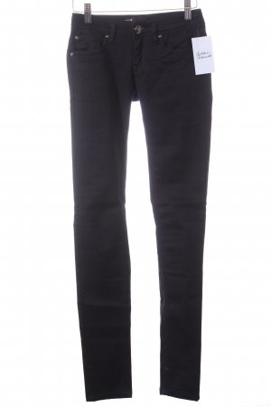 Megusto denim Skinny Jeans schwarz Casual-Look