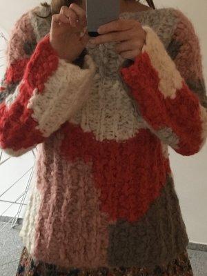 Mehrfarbiger Pullover