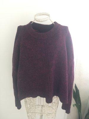 Atmosphere Sweater bruin-paars-zwart