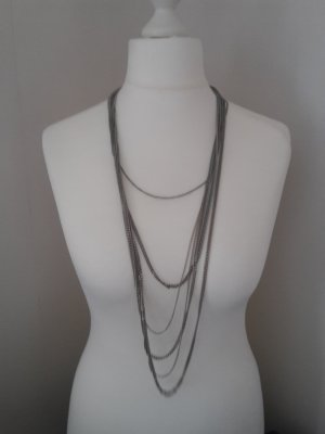 H&M Link Chain silver-colored-grey